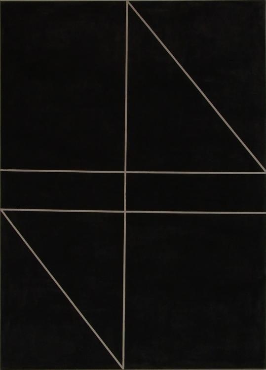 Ohne Titel, 2010 Gesso, Acryl auf Leinwand, 180 x 130 cm