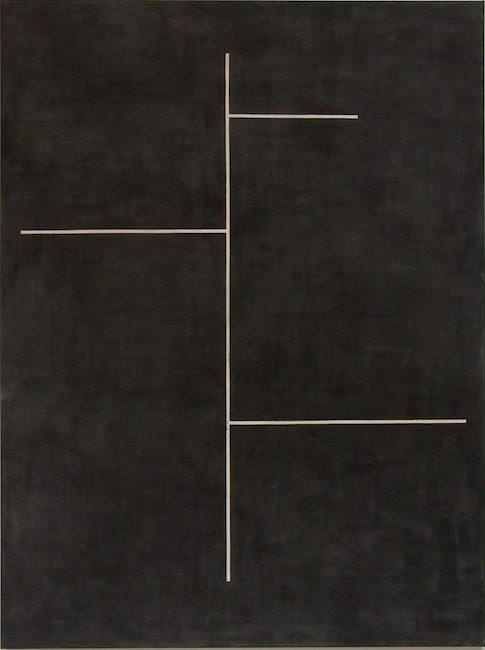 Ohne Titel, 2013 Gesso, Acryl auf Leinwand, 180 x 135 cm