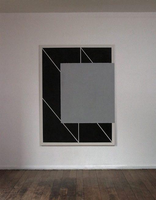Ohne Titel, 2011 Gesso, Acryl auf Leinwand, 180 x 135 cm