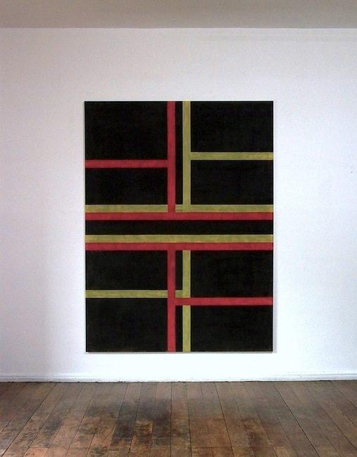 Ohne Titel, 2012/14 Gesso, Acryl auf Leinwand, 200 x 150 cm