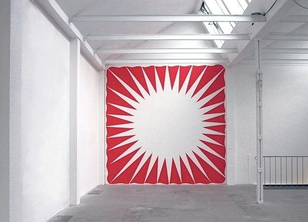 Wandmalerei, 2004 Projektraum M54, Basel