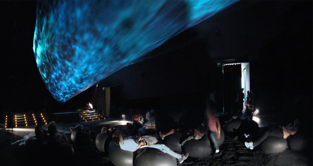 Unter dem See, Schweizer Pavillion, Expo 08 Zaragoza