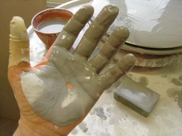 2007 – Meine Hände, schlicküberzogen
