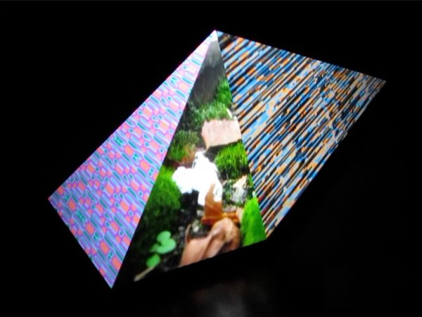 Um die Ecke, 2012, Mixed Media, in Kooperation mit Denis Handschin
