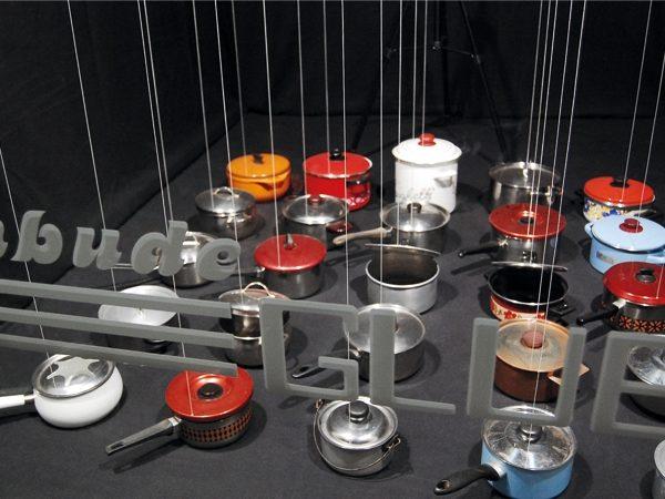 Nimmersatt – das Spiel mit den Hungrigen, 2012, Interaktive mechanische Toninstallation