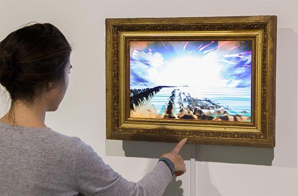Sunset on Demand, 2015, interaktive Videoinstallation