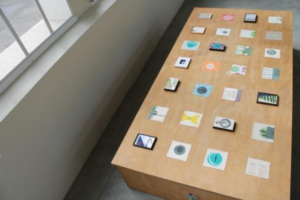 Installation aufladen_entladen, Ausstellung der SGBK im Kraftwerk Augst 2014