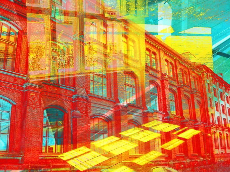 Raumserie, OT 009, Fineart Inkjet Print Fineart Papier auf Alu, 100 x 75 cm