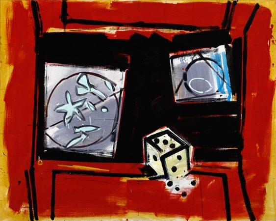 Tavola IV 2008 Oel auf Leinwand 120 x 150 cm