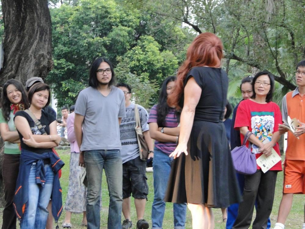 Discourse of Love, Performance, Suan Buak Haad Park, Chiangmai/Thailand 2011