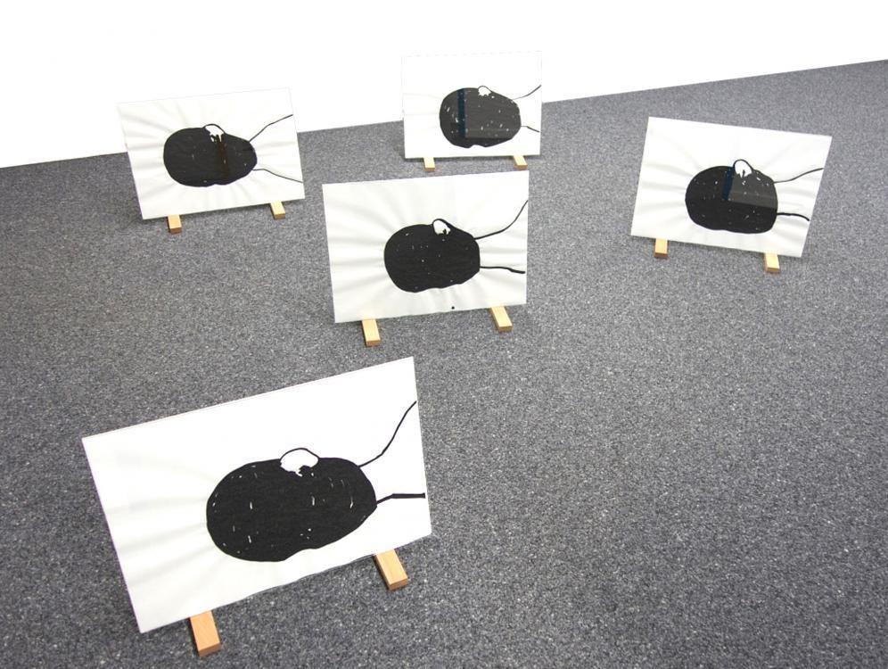 Darüber Hinaus, 2015, Format A2, Marker auf Papier