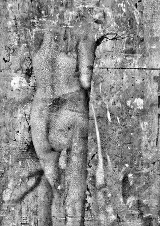 Torso Venedig 2017. 51.5 x 34.5cm. Archivinkjetprint auf Leinwand.