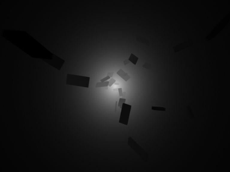 monolith invasion I, Computer Animation, 2008, b/w, no Sound, 20'' loop, DVD, Edition 5 + 1 AP