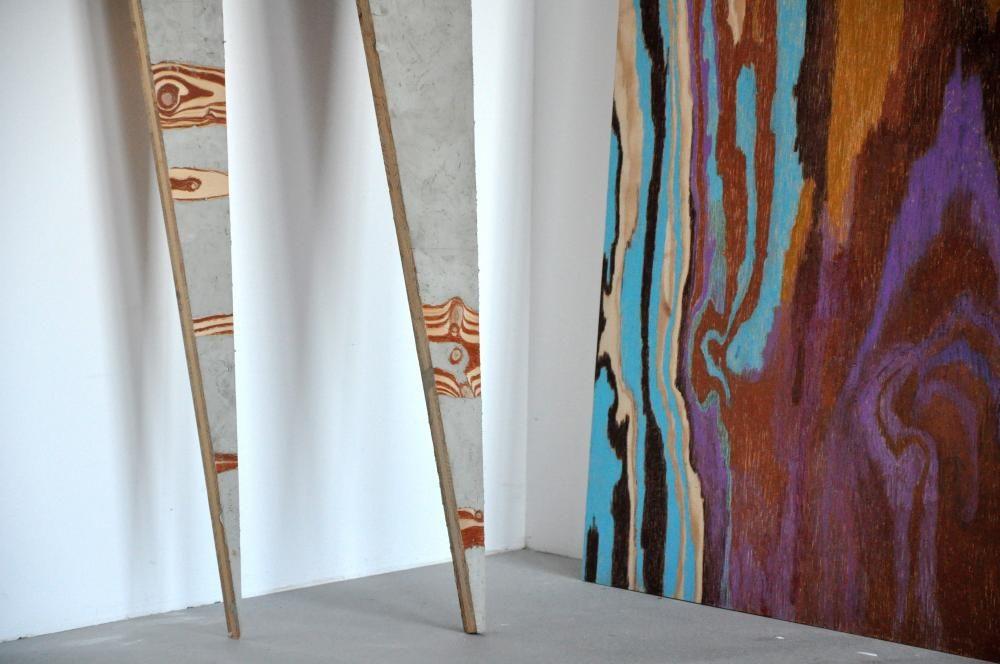 o.T., 2016, Installationsausschnitt