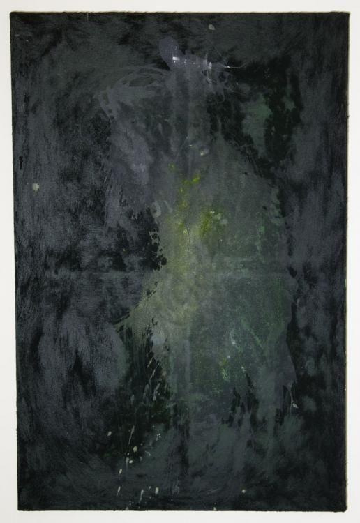 «L'energia della speranza» (2013) 120x80cm, Acryl, Sand auf Leinwand
