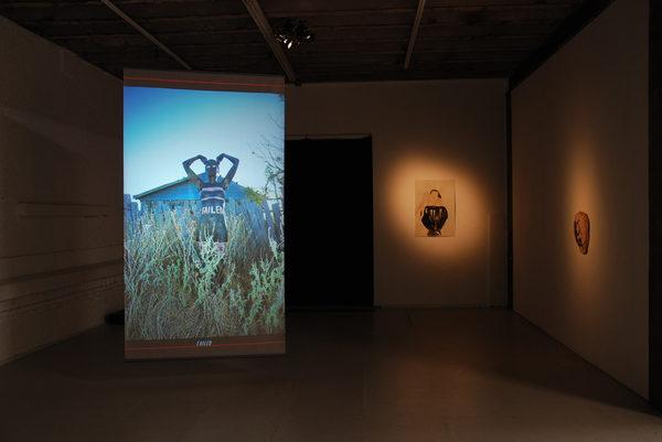 THEBAIERTEST/BAKCHEN-BACCHES Videoinstallation im Kasko; mit Martina Gmür, Monika Dillier, Oktober 2011