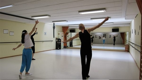 Tanzlession bei Heidi Köpfer, 9.5.2014
