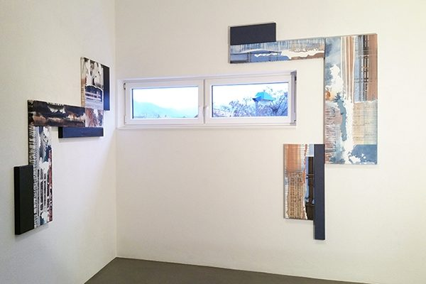 Anarchie und System, installative Hängung im Haus der Modernen Kunst, Staufen, 2016