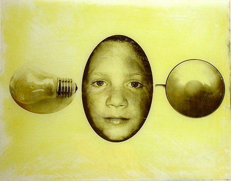 Ich bin nicht so, 2006, 48x38cm, Glas