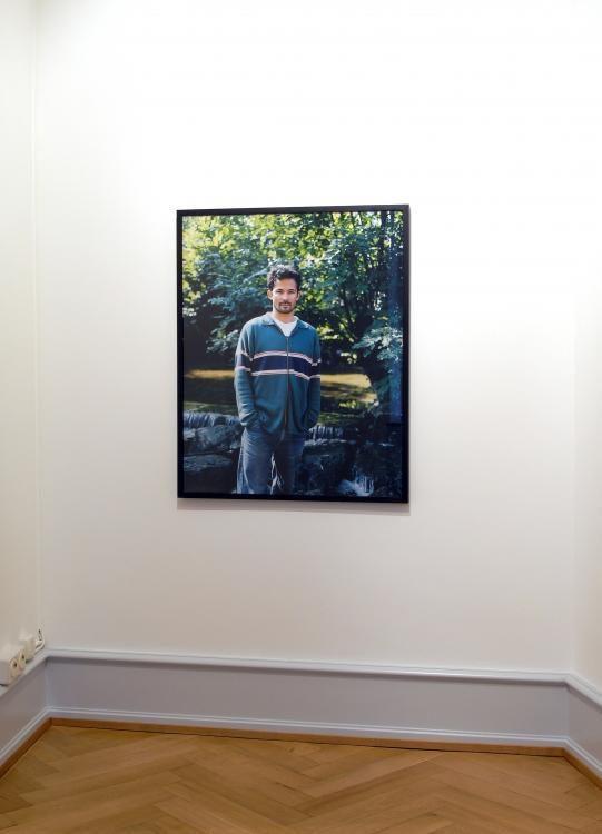 vis-à-vis (men/Männer), seit 2006, c-prints. Galerie Taner Basel, 2011