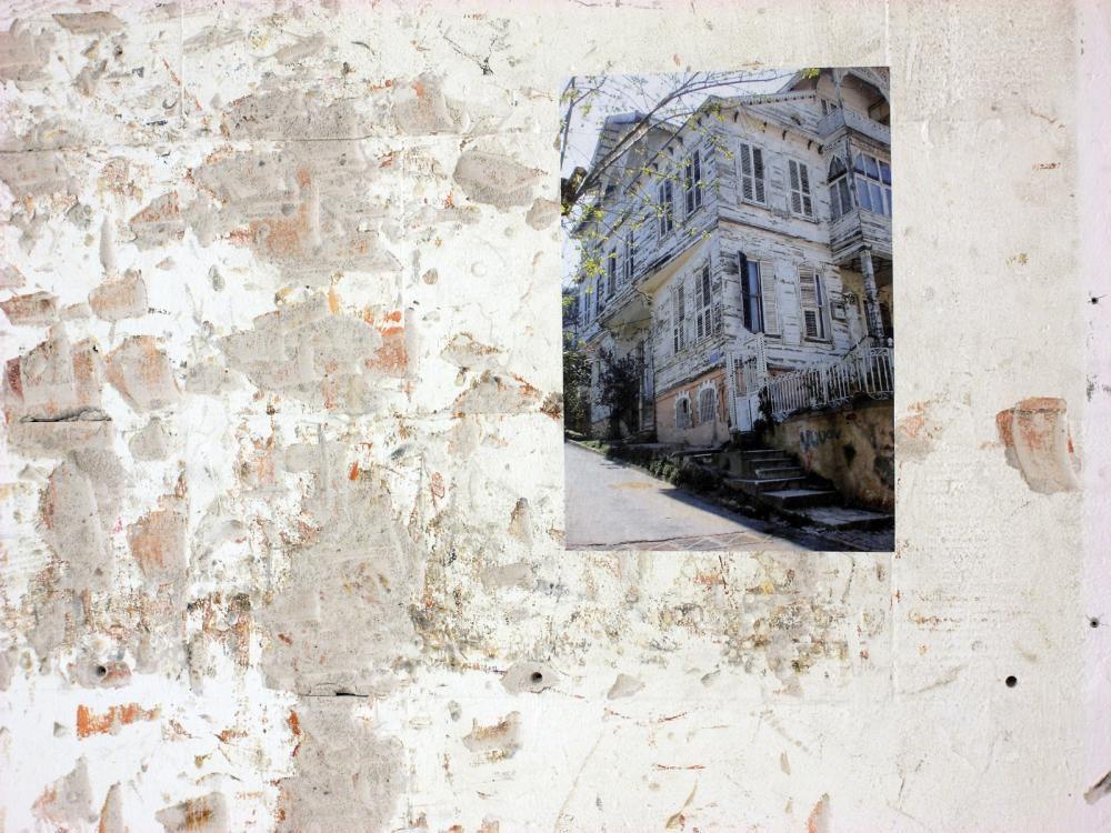 additions (transform), 2013, Laserkopie auf Wand gekleistert. transform Bern