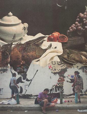 ohne Titel   2013   Analoge Collage auf Papier   29 x 22 cm