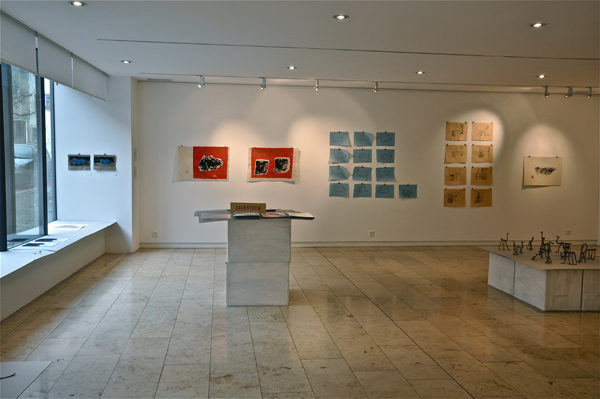 Ausstellungssituation, 2012, Galérie de la FARB, Fondtion Anne et Robert Bloch, Delémont