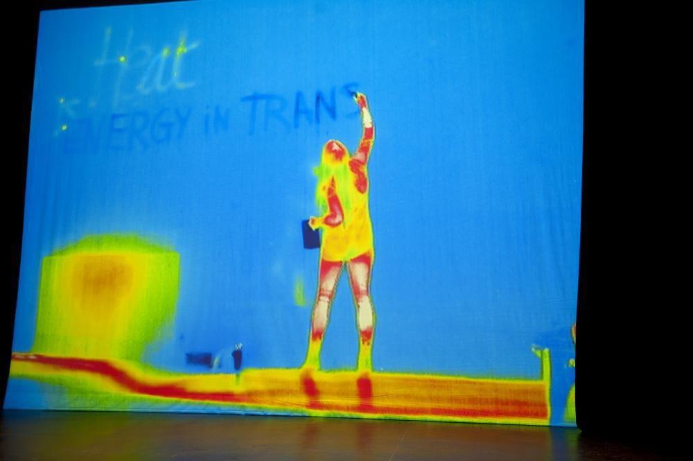 Entropy, Performance, Bone action Festival, Bern, 2012