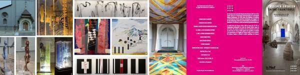 Nationale Kunstausstellung vom 24. September bis 15. Oktober 2017 Association / Kunstzentrum La NEF, 2340 LE NOIRMONT / JU