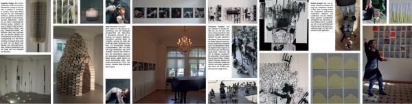 """Prospekt Ausstellung """"Spleen"""" im Maison 44, Basel 2016"""
