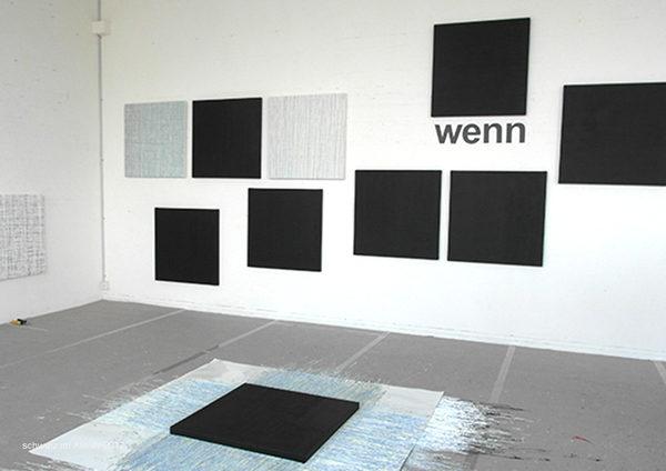 Wenn schwarz schwarz ist, 2012