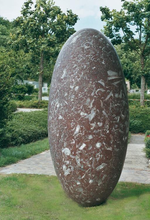 Metamorphose, Skulpturen 2004, Kalkstein, Schönenberg Bottingen