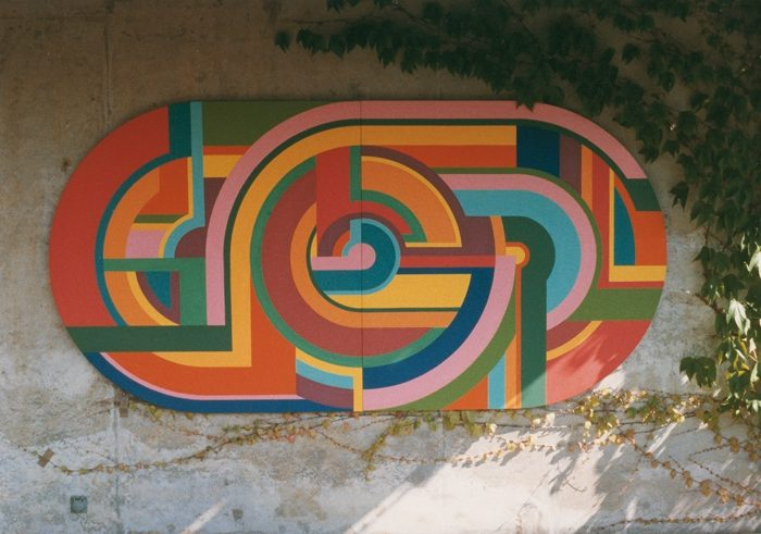 Gordischer Knoten, Wandobjekt 1976, Privat Dijon