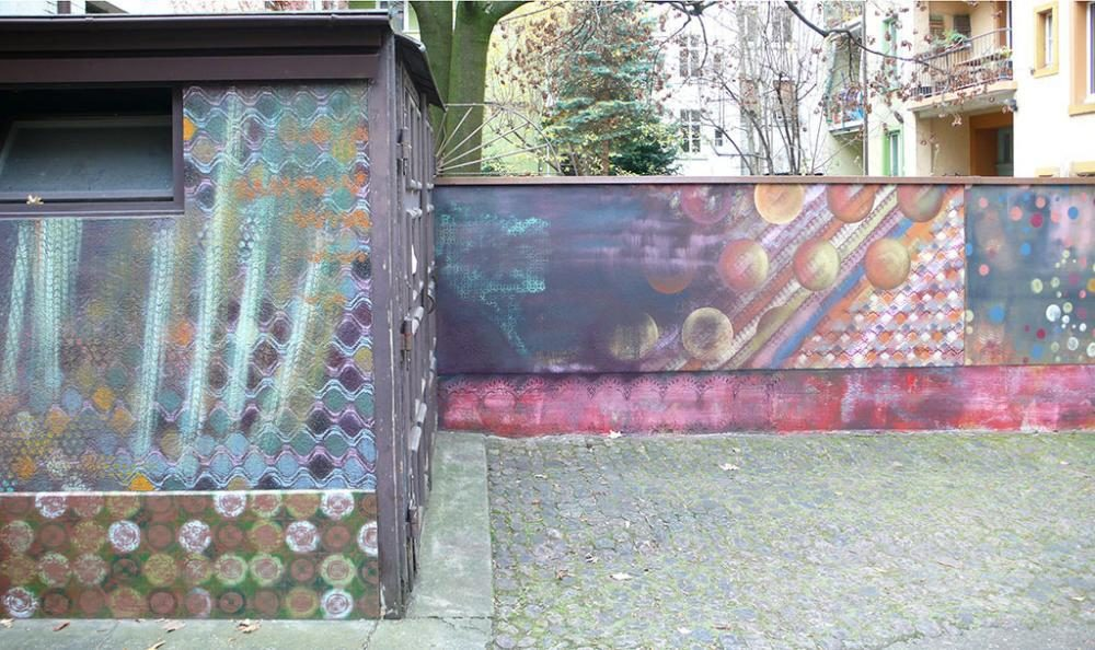 sprayed murals, M54, Regionale 15