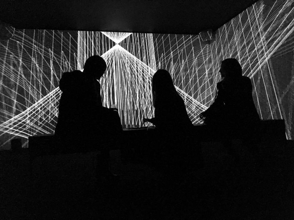 FORMBIT II, 2015, variable size, multi-channel video and audio installation, computer custom software