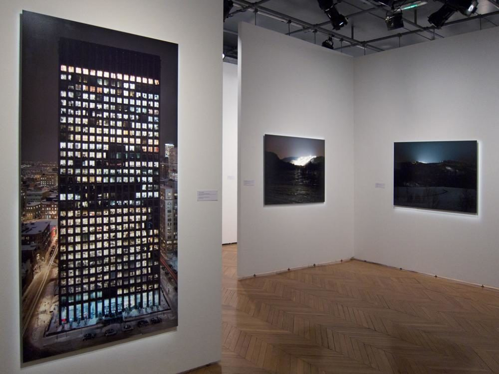 «Au milieu de nulle part», Centre culturel canadien, Paris, 2012
