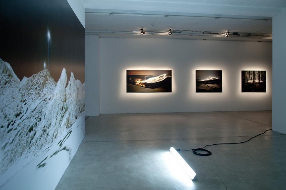 «Streulicht», Ausstellungsraum Klingental, 2013