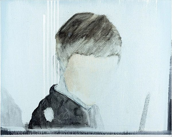 «Lichter II» 2012, Pigment, Acrylharz auf Leinwand, 42 x 52 cm, Kat.Nr. 355
