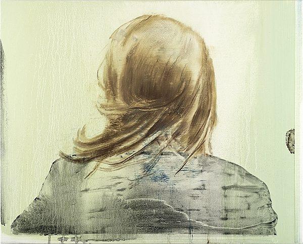 «LichterI» 2012, Pigment, Acrylharz auf Leinwand, 42 x 52 cm, Kat.Nr. 354