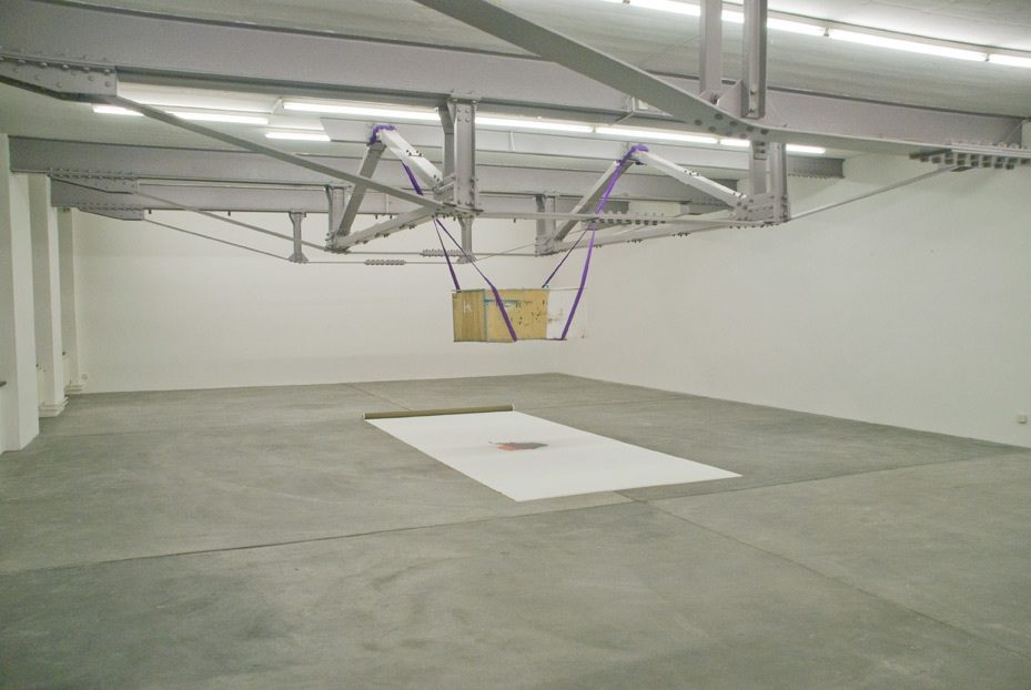 "Installation, ""15122012"", Vebikus, ""The Birswanger Collection"" Schaffhausen, 2012"