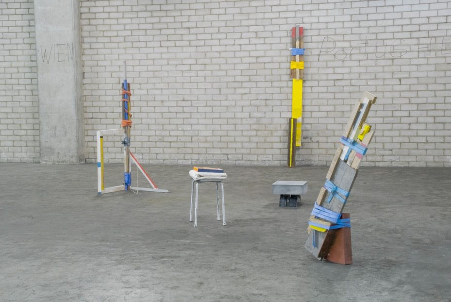 "Exhibition view ""Lichtfeld Bienale 13"",Dreispitz Basel, 2013"