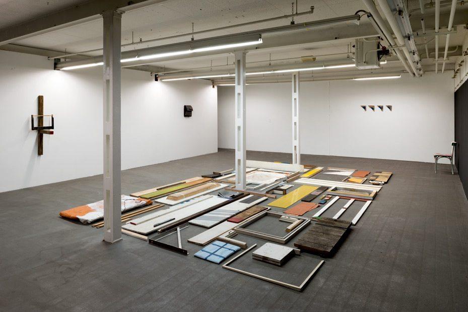 """Exhibition viev, Installation, """"18122012"""", Kunsthalle Baselland, Muttenz, 2012"""