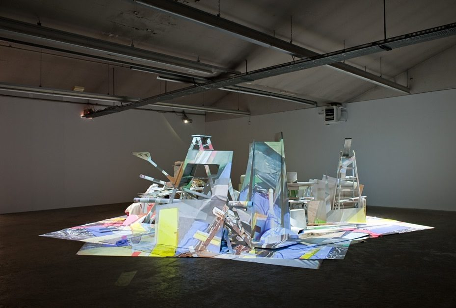 "Exhibition view ""Pleasure Ground 130811"", Kunsthaus Baselland, 2011"