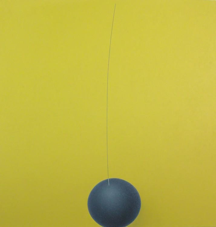 Billie, 2007, 105 x 100 cm, Oel auf Leinwand