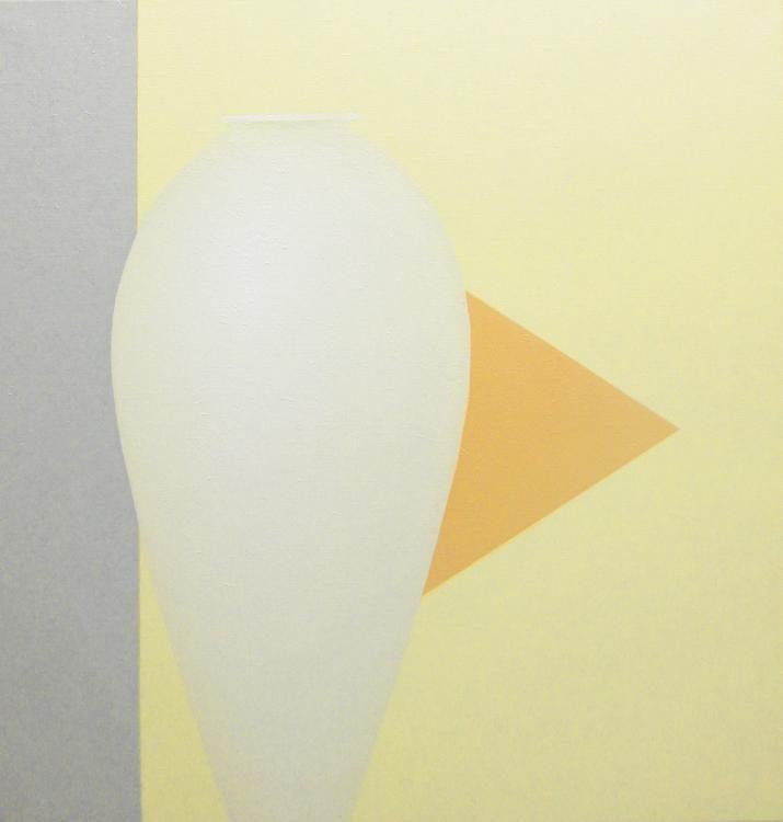 Maria, 2008, 105 x 100 cm, Oel auf Leinwand