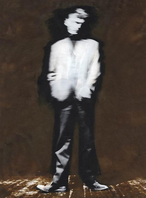 Beckett, 45x60cm, 1970, Silvergelatinprint  P90, Schwefelgetont
