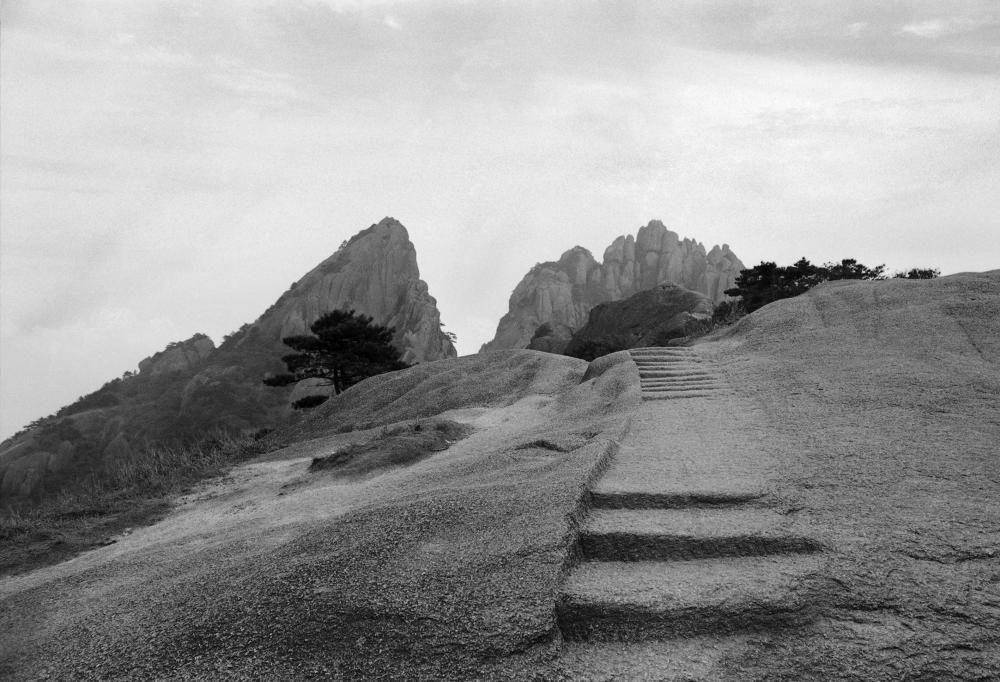 Huang Shan, China 1987, 35x50cm, Silvergelatinprint (Baryt)