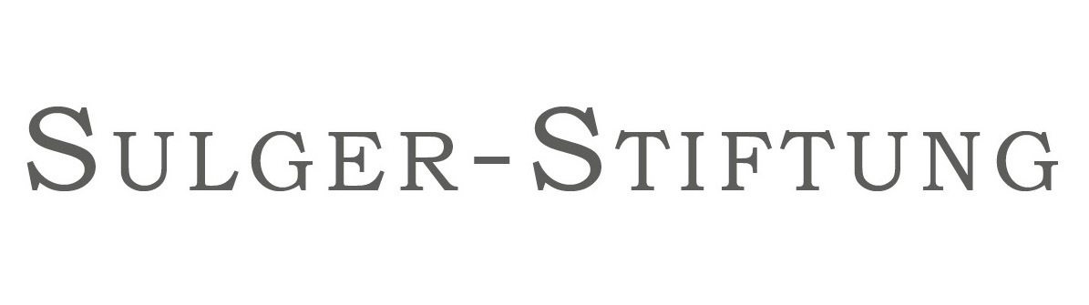 Sulger stiftung logo